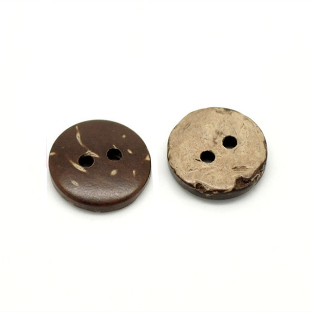 Eco Couture Coconut Buttons (50pc)