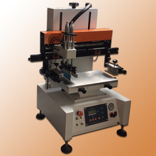 single color and small automatic tabletop screen printing machine