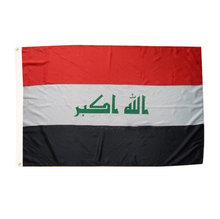 iraq flag 3ft*5ft 90*150cm bandera polyester Flying недорого