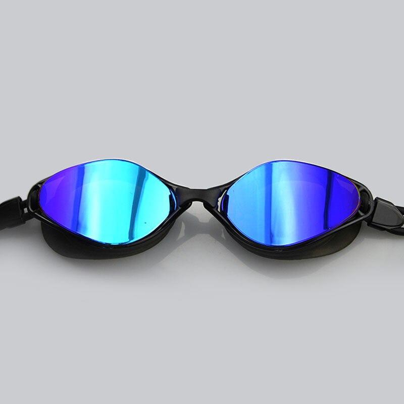 Homens & Mulheres Jogo de Corrida Profissional Óculos de Natação de Arena Óculos Coloridos Óculos de Natação Anti-nevoeiro óculos de Natação