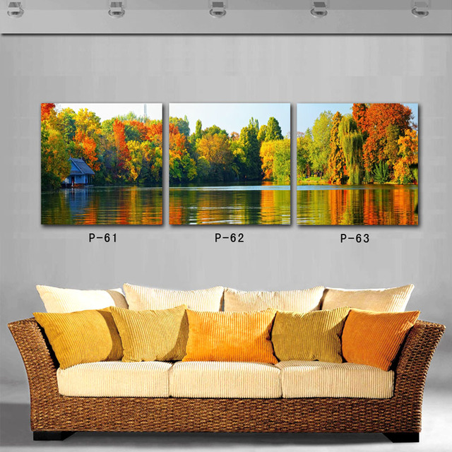 3 Pieces. Canvas Wall Art Canvas Painting Mural Paintings For The Living  Room To The Part 74