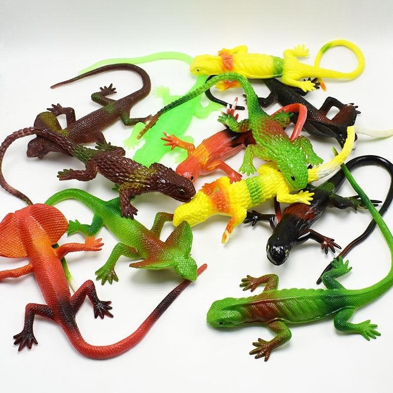 20CM Realistic Plastic Tricky Toy Fake Lizard Garden Props Joke Prank Halloween Horror Toys