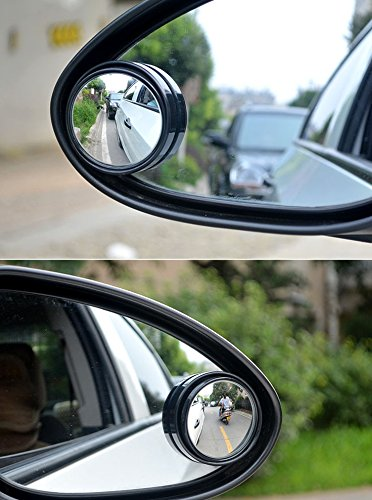 Car Styling rearview clear zone convex small round mirror For Honda FCX Clarity Fit Fit Aria HR-V Insight Inspire Integra Jazz