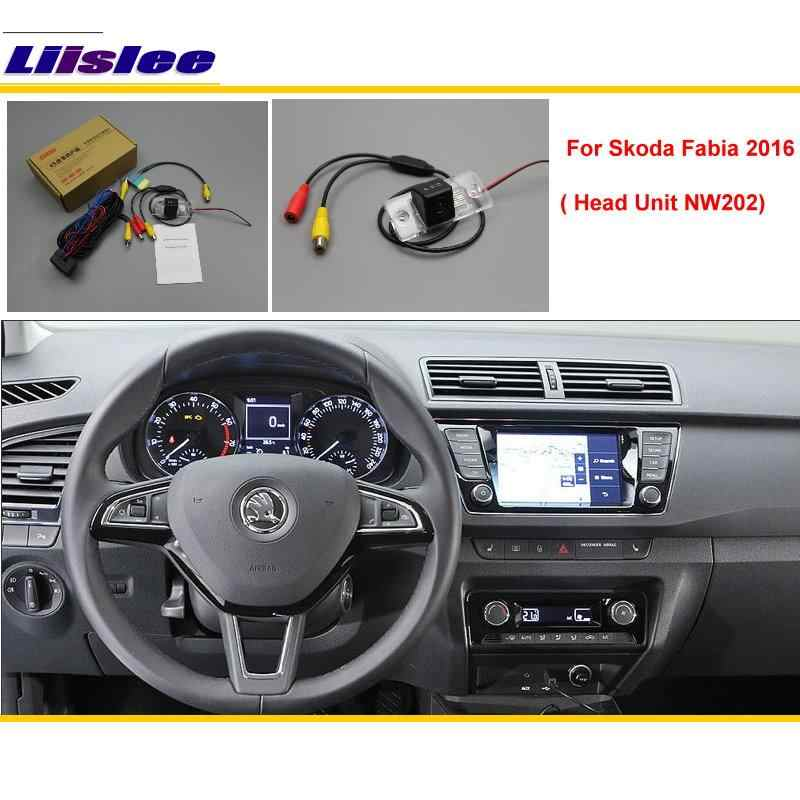 Liislee For Skoda Fabia NW202 Original Screen Compatible / Car Rear View Camera / Back Up Reverse Camera Sets