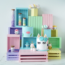 Wooden desktop storage rack kitchen/candy/snack/fruit/ storage tray serving trays Cosmetic storage for home decoration MTP04