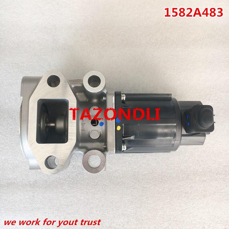 Genuine Exhaust Gas Recirculation Valve EGR Valve For Pickup Triton L200 Sport 1582A483 K5T70080ZT