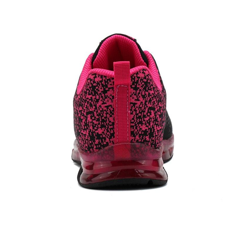 pourpre Plate Formateurs Casual Blanc forme Mode rouge Maille Dames Femme vert Bleu 2019 Printemps Sneakers rose Chaussure Femmes Nouveau Chaussures Reniflard qOBHwx8