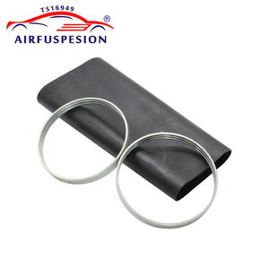 Image 2 - Rear Rubber Air Spring Sleeve With Rings for mercedes W220 Air Suspension Bladder 2203205013  2203202338