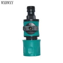 Wxrwxy wasstraat slang tap waterpistool adapter kranen snelkoppeling Water klep Irrigatie klep tuinslang tap adapter 1 stks