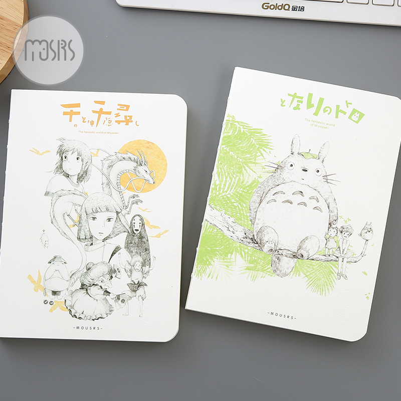 New Cute Sketchbook Diary Drawing kawaii Notebook shcool 80 sheets Paper Notepad Creative Trends Gift