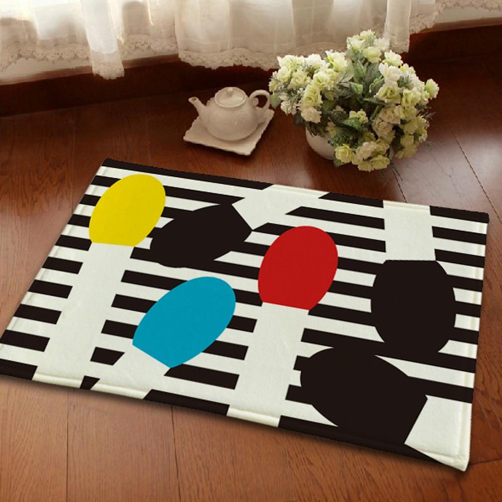 Black white striped rug koop goedkope black white striped rug ...