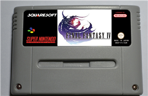 Final Fantasy IV - RPG Game Card EUR Version Battery Save image