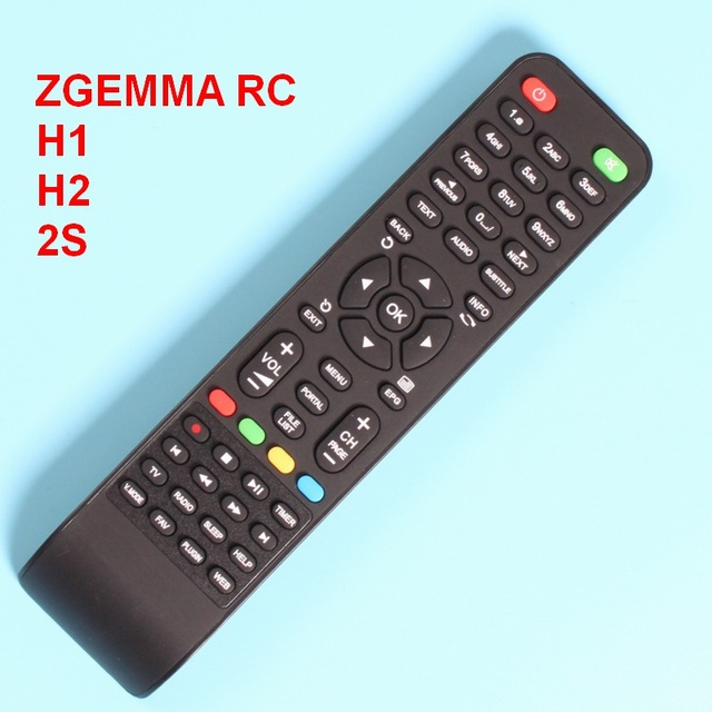 US $3 15 |Remote Control For Zgemma Star H1, H2, 2S, S,LC Directly use  controller, all keys workable -in Remote Controls from Consumer Electronics  on