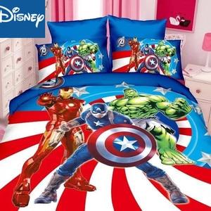 Disney marvel bedding set for