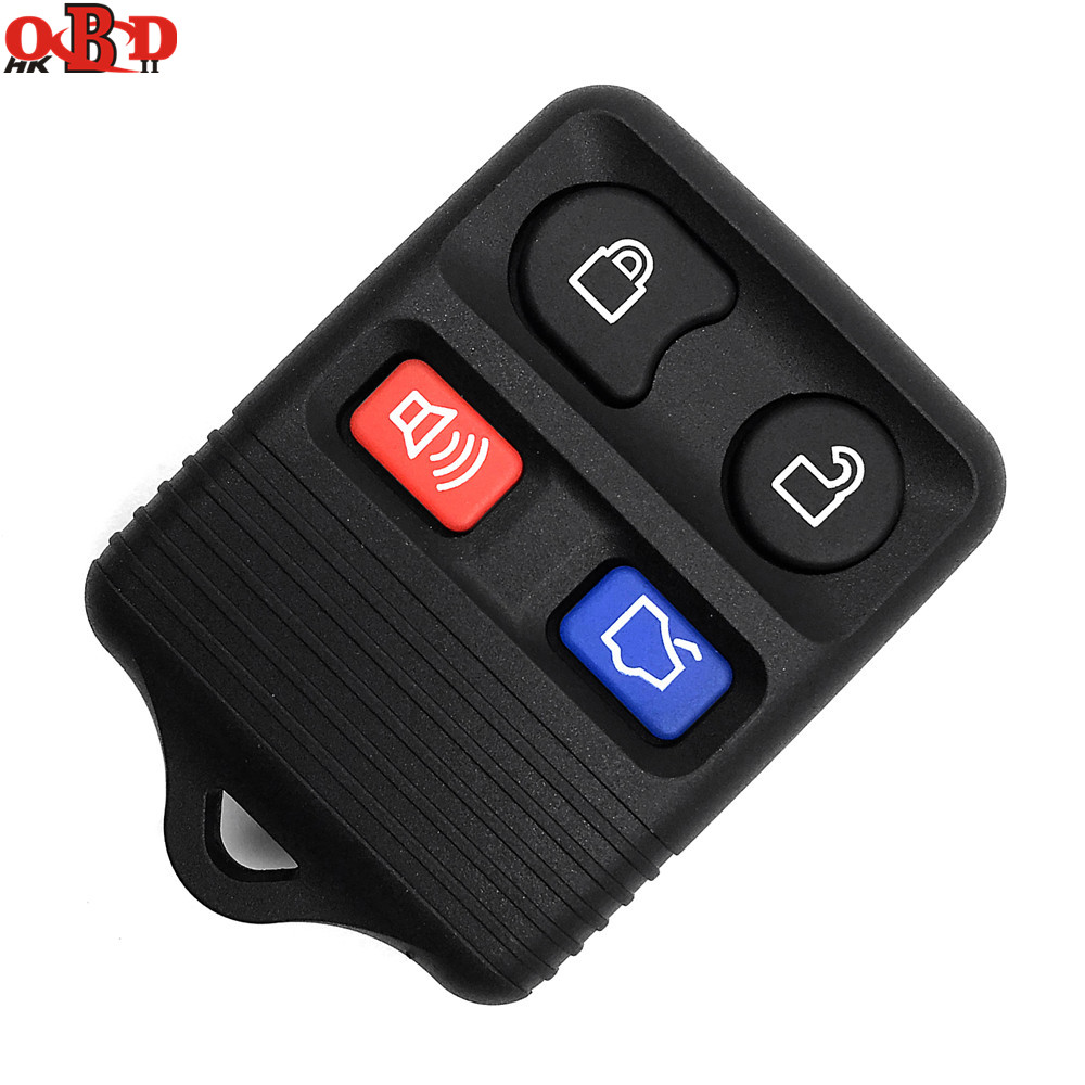 HKOBDII 4 Buttons 315/433MHZ Replacement Remote Car Key CWTWB1U345 For Ford Escape Mustang Explorer