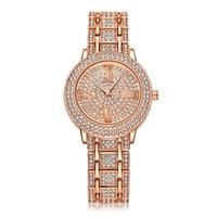 Fashion Relogio Masculino 2016 Hot Women Watch Rhinestone Bling Crystal Analog Quartz Wristwatch Luxury Woman Mens