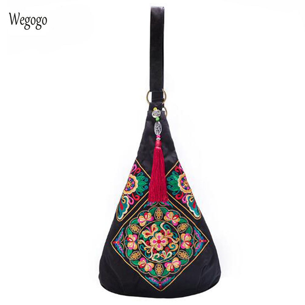 Original Chinese Women Messenger Bag Embroidery Ethnic Shoulder Bags Women Travel National Vintage Hobo Beach Chest Bag vintage ethnic canvas messenger bag women chinese style shoulder bag female casual national bag mujer embroidery crossbody bag