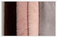 Mylb Colorful Polyester Artificial Rabbit Fur Plushrabbit Wool Fabric Autumn And Winter Clothing Imitation Fur Fabric