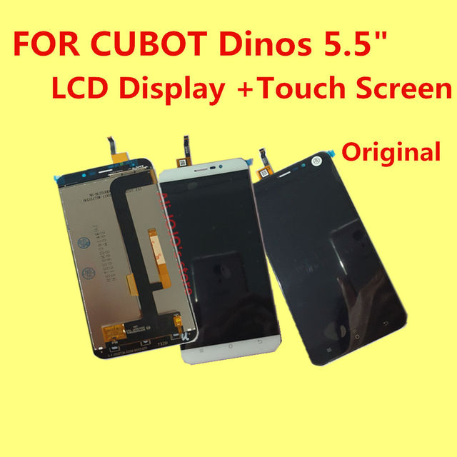 """FOR CUBOT Dinos LCD Display +Touch Screen+Tools 100% Original Digitizer Assembly Replacement Accessories For Phone 5.5"""" MTK6735A"""