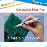 Free Shipping Hot Sell Conductive Pen Conductive Silver Paint Pen Mini Pen Itw Cw2200mtp Bga IC