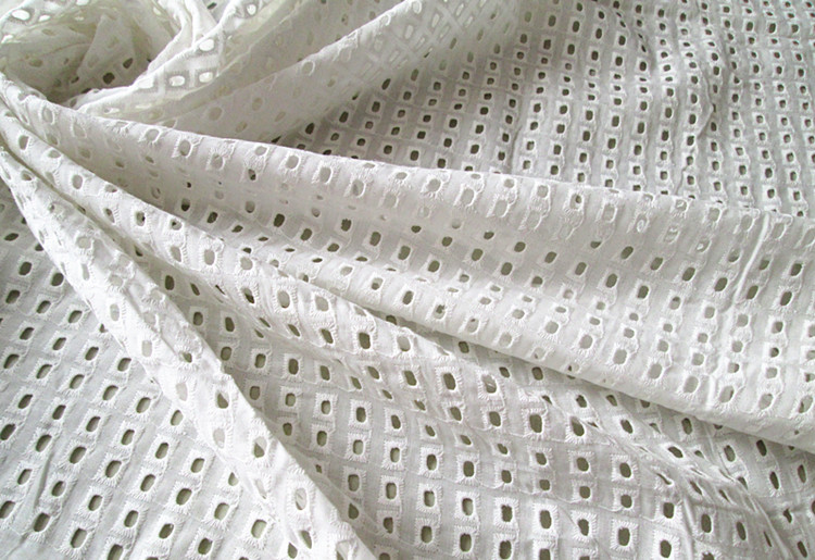3f496e56e6a8b5 1Yard 100*130cm,White Cotton Voile Eyelet Embroidery Lace Fabric,Blouse  Skirt Table Cloth Skirts Patchwork Sewing Cloth Fabrics-in Fabric from Home  & Garden ...