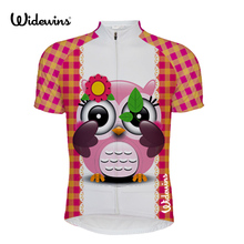 1e675f3f8 woman Owl cycling jersey summer clothing bike wear team Italian tops bicycle  cool shirt pink new