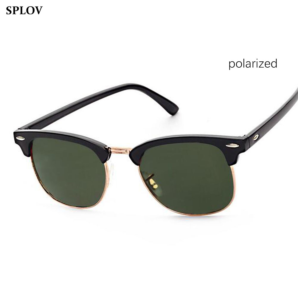 Half Metal Polarized font b Sunglasses b font Men Women Brand Designer Glasses Sun Glasses Fashion