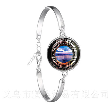 Dslr Lenses Art Picture Bracelet Keep That Moment Forever Camera Lens Silver Plated Chain Bangle For Women Best Gift image
