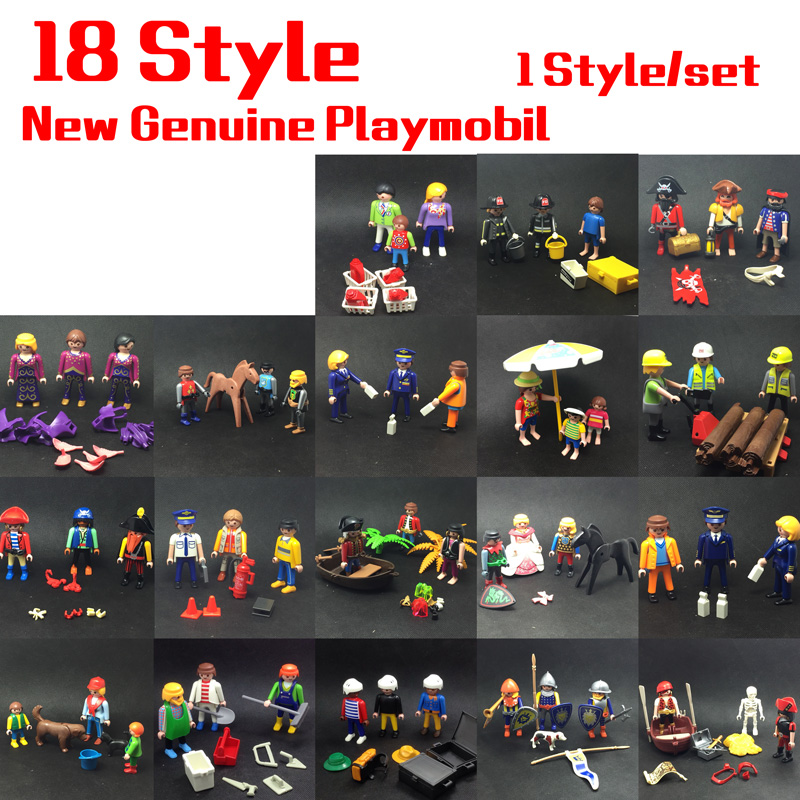 18 Style 7.5cm mini Playmobil Princess Set Dolls Royal Bath Chamber and Royal Bed Chamber with Action Figure Toys