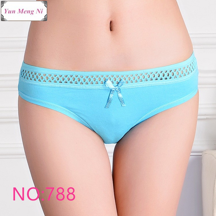 Free shipping 5pcs/lot Hot Selling Cotton women's briefs sexy low-waist panties Ladies briefs Ladies Cotton Briefs underwear