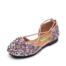 New little Baby Girls Shoes Bling Rhinestones Kids princess Shoes Girls Cocktail Party dance Shoes 1 2 3 4 5 6 7 8 9 10 11-14T цена в Москве и Питере