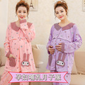 Every day special pregnant women winter pajamas & spring and autumn pregnant women warm home clothing & maternity suits