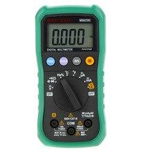 MASTECH MS8239C Multímetro Digital de rango Automático de Mano AC DC Tensión Corriente Capacitancia Frecuencia Temperatura Tester