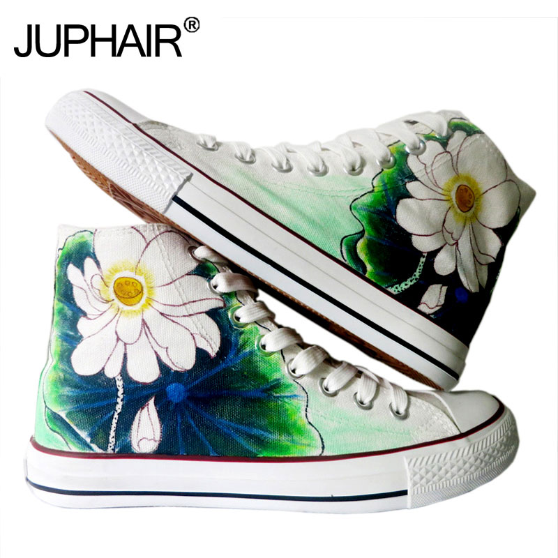 17379f7d57e2 JUPHAIR Custom Design Shoes Women Boy Girl Custom Shoes Canvas Casual Hand  Painted Shoes Order Set the Produc Make up Difference