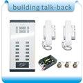 Система дверного звонка «сделай сам»  система дверного звонка для 12 единиц квартиры  электронный замок управления  2 телефона  1 блок питания...