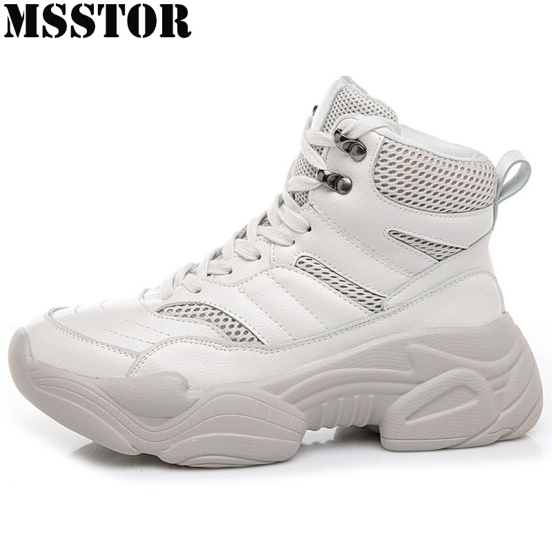 MSSTOR Spring Autumn Women's Running Shoes Winter Sneakers For Woman Brand Athletic Walking Casual Fashion Ladies Sport Shoes недорого