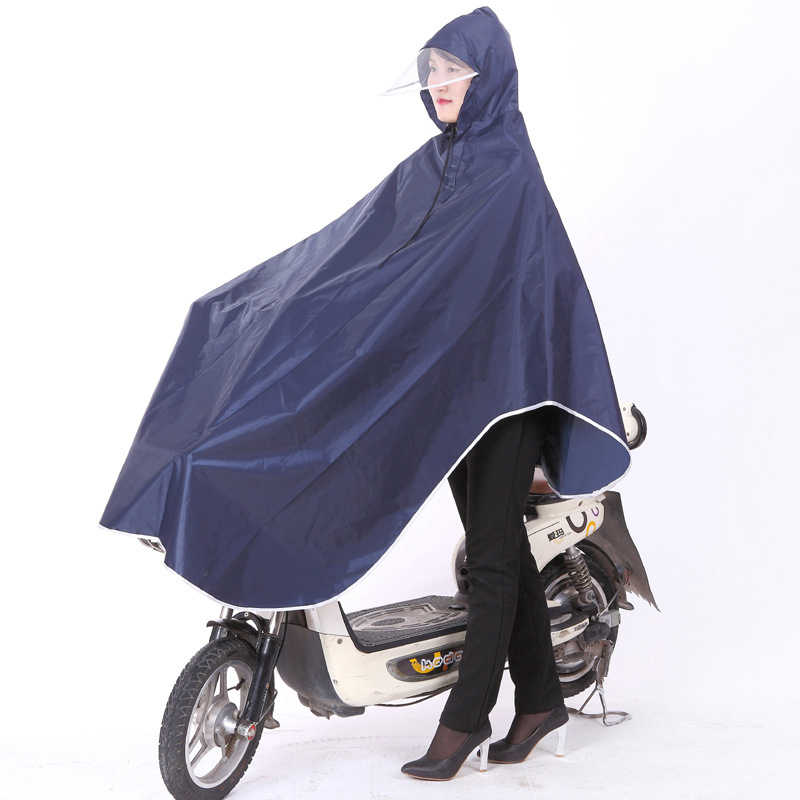 Fashionable Rainproof Impermeable Raincoat Women Men Universal Bicycle Rainwear Poncho Waterproof Hiking Rain Gear