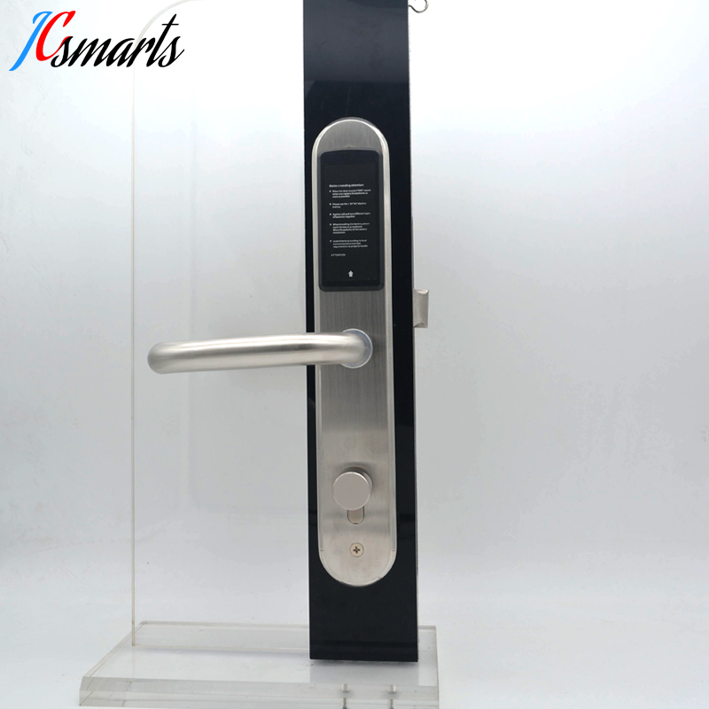 Hotel Electronic Door Lock With Rfid Card Reader For Slim