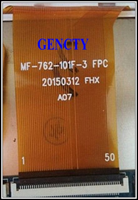 """New Touch Screen For 10.1"""" inch BDF 101 Tablet Touch Panel Digitizer Glass Sensor MF 762 101F 3FPC Replacement Free Shipping"""