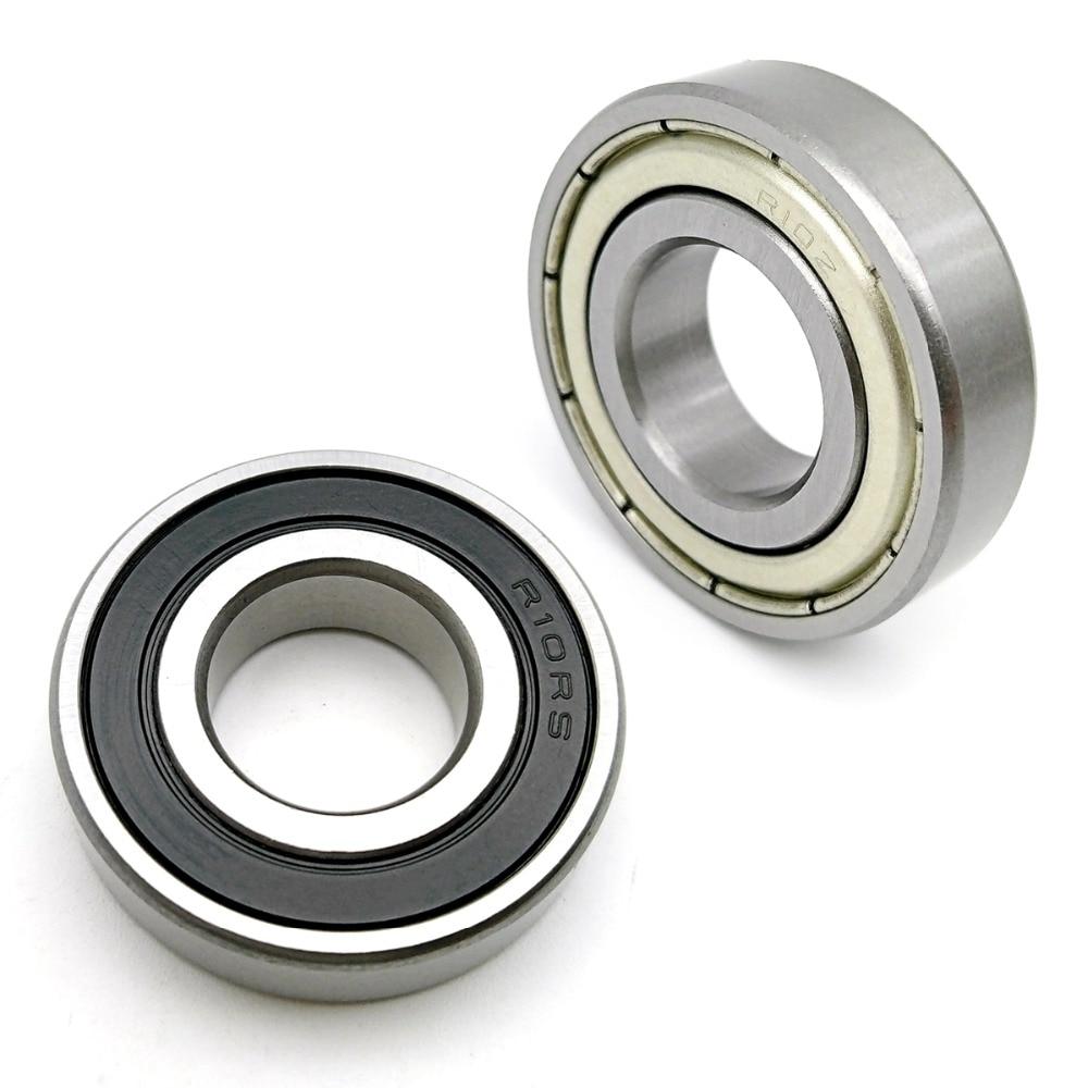 "R6-2RS Rubber Sealed Ball Bearings R6RS Black 10 Pcs 3//8/"" x 7//8/"" x 9//32/"""
