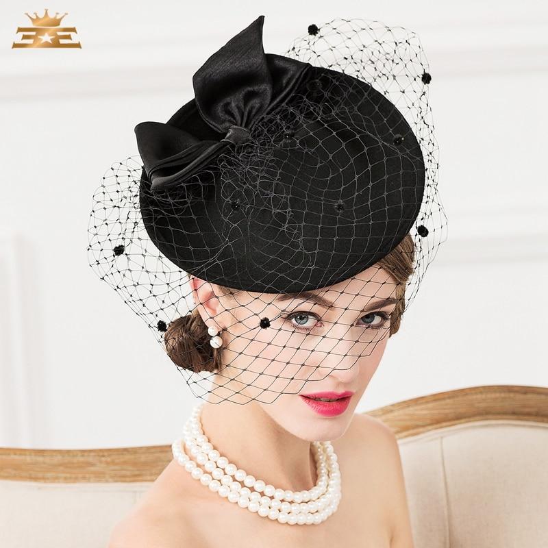 Online Get Cheap Womens Black Dress Hats -Aliexpress.com | Alibaba ...