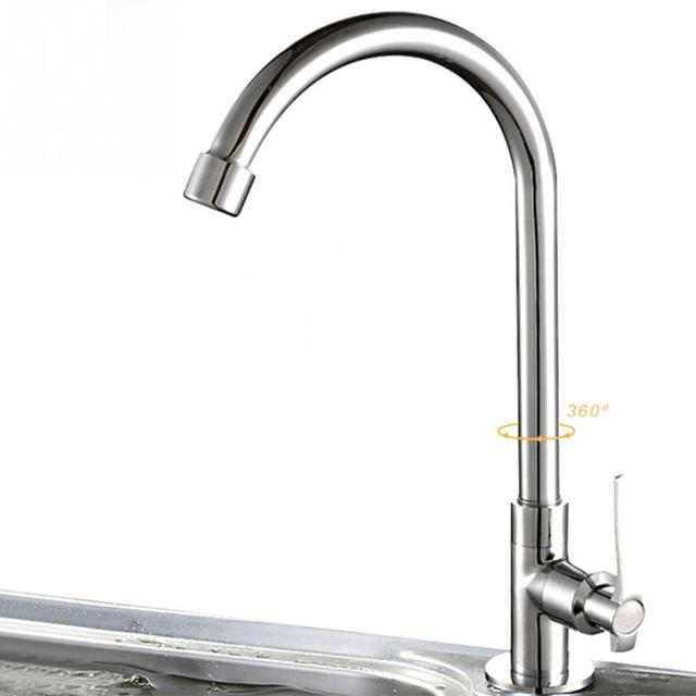 Wand Montiert 360 Rotation Flexible Küche Wasserhahn Mischer ...