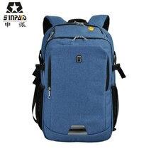Sinpaid Водонепроницаемый Anti-Theft бизнес компьютер рюкзак цветные сумка для ноутбука женщин shulder сумки Anti-Theft женские сумки- 45