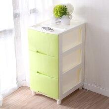 Для хранения Пластик коробка в цвет ящик для хранения состоит Организатор использования для семьи хранения в три слоя шкаф для хранения одежды