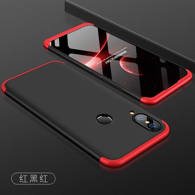 super popular 4643c 5db9d US $3.0 6% OFF|For Huawei Nova 3 3i Case Hard 3 in 1 Matte Armor Hybrid  Protective back cover case for huawei nova3 nova3i 360 full cover shell-in  ...