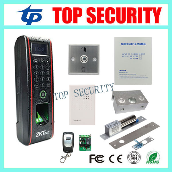 ZK TF1700 iometric fingerprint and RFID card time attendance and access control IP65 waterproof door access control system