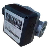 Water Flow Meter sensor flowmeter fuel gauge caudalimetro gasoline diesel Fuel Oil flow indicator counter DN25 4 digit 0 9999L