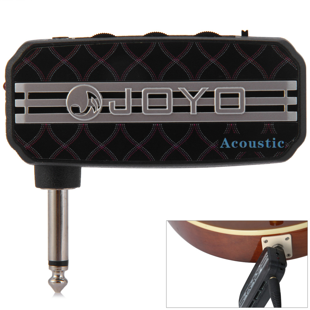 JOYO JA - 03 Mini Pocket Design Guitar Amplifier with Acoustic Sound joyo ja 01 2w mini amplifier direct guitar plug in with big sound great for practice