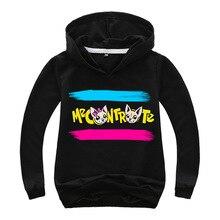 DLF 2-16 New 2019 Game Me Contro Te Hoodie Kids Fashion Anime Hoodies Boys Basic Coat Girls Funny Sweatshirts Children Pullovers