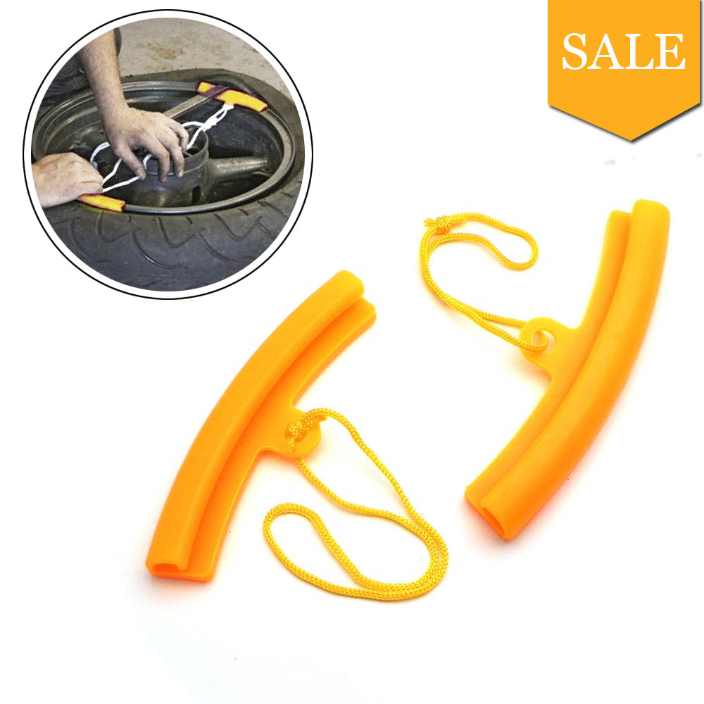 A Pair Replace Change Wheel Tire Tyre Rim Edge Solid Plastic Protection Tool Car Auto Motorcycle ATV Repair Tools